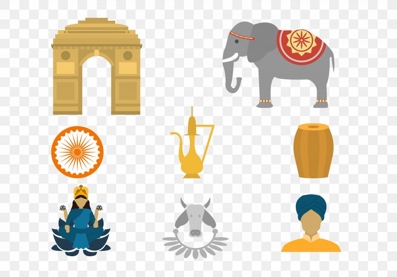 India Euclidean Vector, PNG, 5833x4083px, India, Map, Point, Polygon, Yellow Download Free