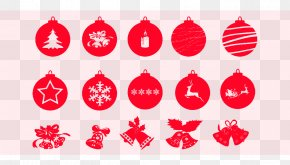 Christmas Red Bell Creative Collection - Santa Claus Christmas Icon Design Icon PNG