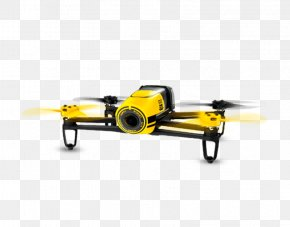 No People Yellow Camera - Parrot Bebop Drone Airplane Aircraft Unmanned Aerial Vehicle Camera PNG