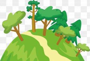 Plant Hillside - Plant Clip Art PNG