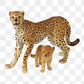 Cheetah Free Download - Cheetah Eurasian Lynx Toy Schleich Lion PNG