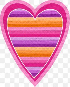 Pink Heart Clip Art - Heart Clip Art Image Psd PNG