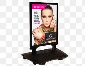 Web Hosting Flyer - Sandwich Board Advertising Poster Sidewalk Billboard PNG