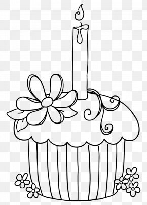 Cake - Cakes And Cupcakes Cakes & Cupcakes Colouring Pages Coloring Book PNG