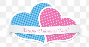 Two Valentine's Day Hearts PNG Clip Art Imag - IPhone 6 Plus Valentine's Day Clip Art PNG