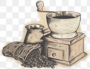 Manual Coffee Mill - Coffeemaker Cafe Caffxe8 Mocha Moka Pot PNG