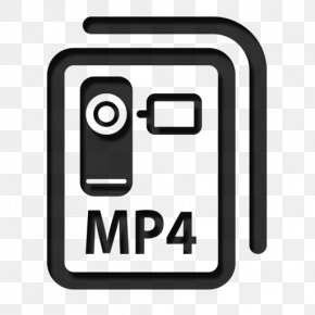 Mp4 Icon - MPEG-4 Part 14 Video File Format Filename Extension PNG