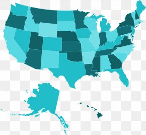 United States - United States Royalty-free Map U.S. State Clip Art PNG