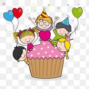 Birthday - Birthday Cake Children's Party Clip Art PNG