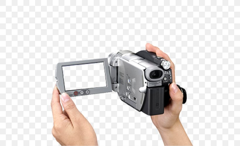 Video Camera Sony Camcorders Handycam, PNG, 500x500px, Video Camera, Camcorder, Camera, Camera Accessory, Camera Lens Download Free