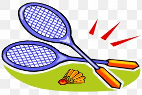 Badminton/ - Badminton Animation Sport Shuttlecock Racket PNG