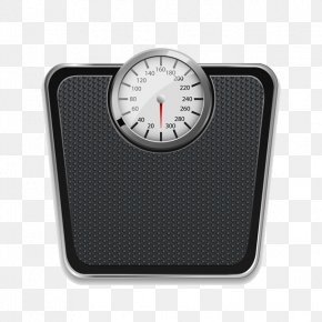 Exquisite Black Scales - Human Body Weight Weighing Scale Euclidean Vector Measurement PNG