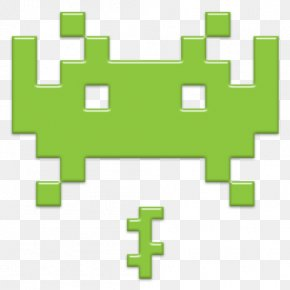 Space Invaders Transparent - Space Invaders Pac-Man Retrogaming Icon PNG