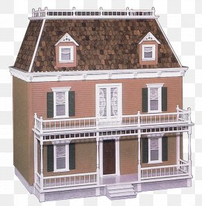 Balcony - Facade House Building Siding Roof PNG