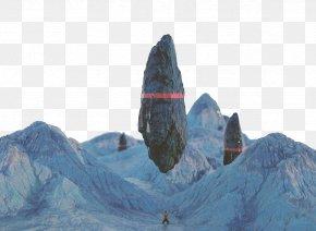 Fallen Rock Peaks - Cinema 4D Graphic Design PNG