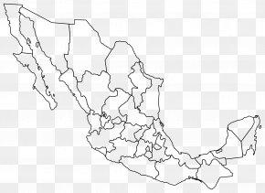 United States - Mexico United States Blank Map Clip Art PNG