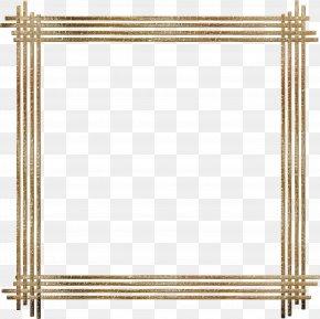 Gold Border - Picture Frame Espelhos Clip Art PNG