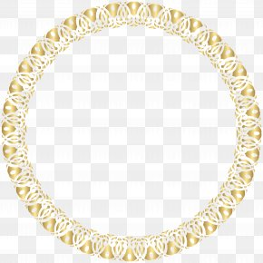 Round Frame Gold Transparent Clip Art - Picture Frame Clip Art PNG
