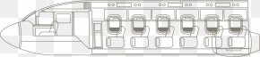 Vector Icon PPT Creative Design Aircraft Cabin - Structure White Pattern PNG