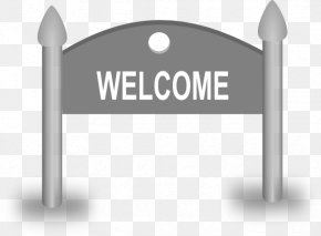 Welcome Cliparts - Welcome Sign Free Content Clip Art PNG