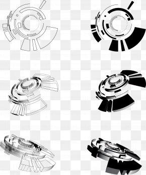 Vector Cool Technology Elements - Circle Euclidean Vector Technology Clip Art PNG