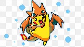 Pixel Art - Pikachu Pixel Art Digital Art PNG