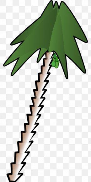Clip Art Coconut Tree - Clip Art Vector Graphics Openclipart Free Content PNG