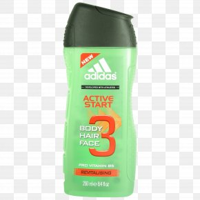 Shower Gel - Shower Gel Adidas Body Hair Face Cleanser PNG