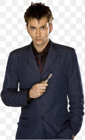 The Doctor HD - David Tennant Tenth Doctor Donna Noble Doctor Who PNG
