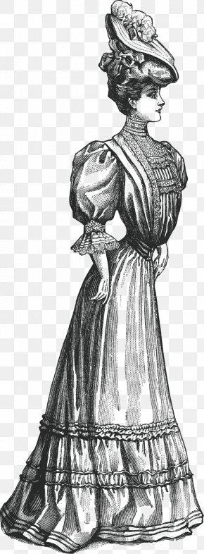 Hand Drawn Vector Aristocratic European Women - Europe Euclidean Vector Drawing PNG