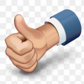 Social Media - Thumb Signal Like Button Social Media PNG