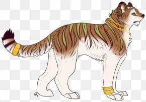 Tiger 1 Layout - Whiskers Tiger Dog Cat Lion PNG
