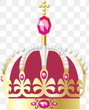Vector Hand-painted Crown Jewels - Crown Diamond Gemstone Download PNG