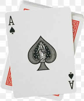 Playing Cards - Ace Of Spades United States Playing Card Company Bicycle Playing Cards PNG