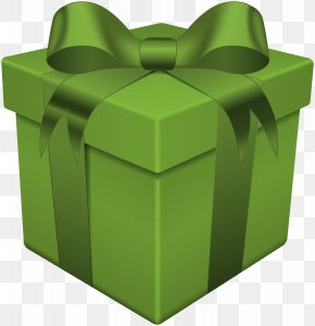 Gift Box Green Transparent Clip Art - Gift Clip Art PNG