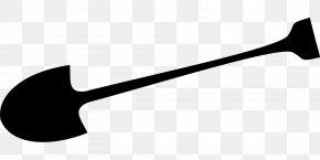 Shovel - Spade Snow Shovel Garden Tool Clip Art PNG