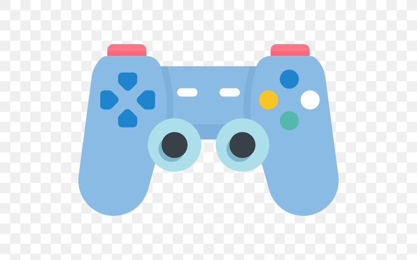 Game Controllers Joystick Playstation 3 Clip Art Png 512x512px Game Controllers Blue Cartoon Game Controller Gamepad
