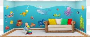 Poster Set - Car Wall Decal Fire Department Wall Sticker 12 Panels Fireman Sam 43770 Walltastic Nursery PNG