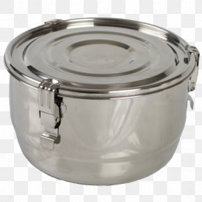 Steel Pot - Food Storage Containers Shipping Container Stainless Steel Lid PNG