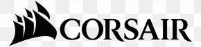 Corsair Logo - Logo Corsair Components Font PNG