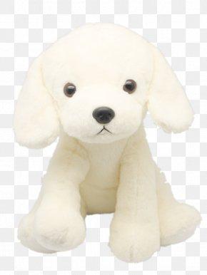 White Dog Plush Toys - Puppy Dog Breed Plush Companion Dog PNG