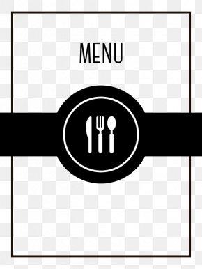 Vector Restaurant Menu - Cafe Menu Restaurant Icon PNG