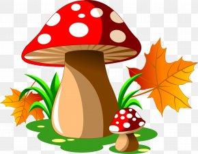 Red Dot Mushroom - Mushroom Cartoon Royalty-free Illustration PNG