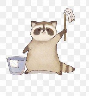 Cartoon Raccoon - Oxygen Not Included Raccoon Sina Weibo Wallpaper PNG
