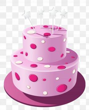 Pink Cake Clipart Image - Birthday Cake Cupcake Chocolate Cake Wedding Cake Clip Art PNG
