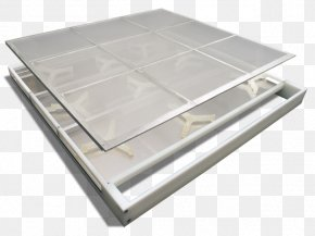 Metal Screen Border - Sieve Table Stainless Steel Mesh Tray PNG