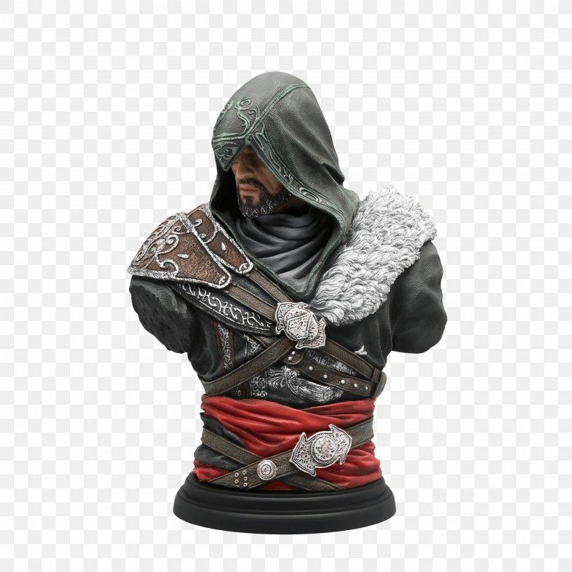 Assassin's Creed: Revelations Assassin's Creed II Ezio Auditore Assassin's Creed: Brotherhood, PNG, 3840x3840px, Assassin S Creed, Assassin S Creed Ii, Assassin S Creed Iii, Assassins, Bust Download Free