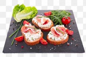 Slice Of Bread - Bruschetta Canapxe9 Prosciutto Toast Bacon PNG