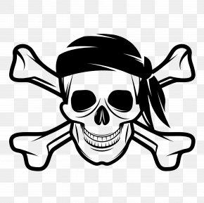 Skull - Skull And Bones Skull And Crossbones Human Skull Symbolism Jolly Roger Piracy PNG