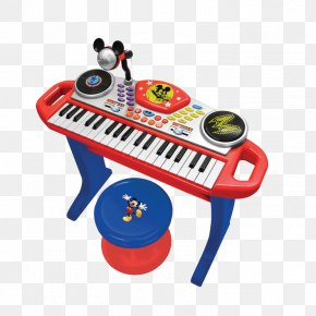 Mickey Mouse - Digital Piano Mickey Mouse Electronic Keyboard Musical Keyboard Toy PNG